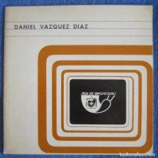 Arte: DANIEL VÁZQUEZ DÍAZ. CAJA DE AHORROS DEL SURESTE DE ESPAÑA. 1974. Lote 205306488