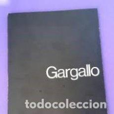 Arte: GALERIA THEO - GARGALLO. CATÁLOGO EXPOSICIÓN EN BARCELONA, OCTUBRE DE 1975) PRESENT. JORDI BENET. Lote 205800096