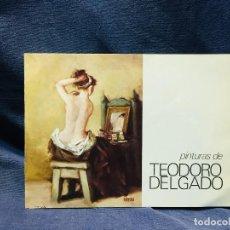 Arte: FOLLETO GALERIA ESTUDIO CID MADRID PINTURAS EXPOSICION TEODORO DELGADO 16X21CMS. Lote 205880763