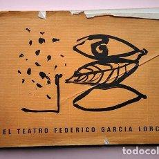 Arte: EL TEATRO FEDERICO GARCÍA LORCA. OBRA SOBRE PAPEL DE FREDERIC AMAT. DIPUTACIÓN DE GRANADA, 1988. Lote 206222950