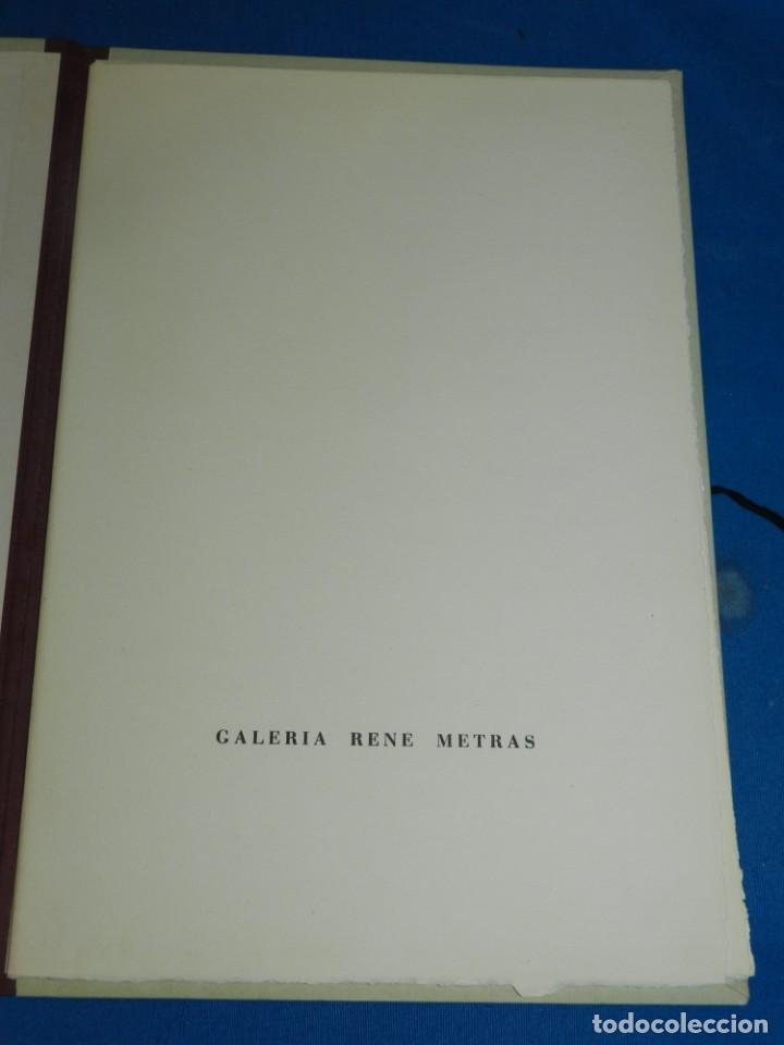Arte: (M) Catalogo Modest Cuixart - Galaria Rene Metras 1963 - Prologo Joan Brossa, 500 Ejemplares - Foto 3 - 206329550