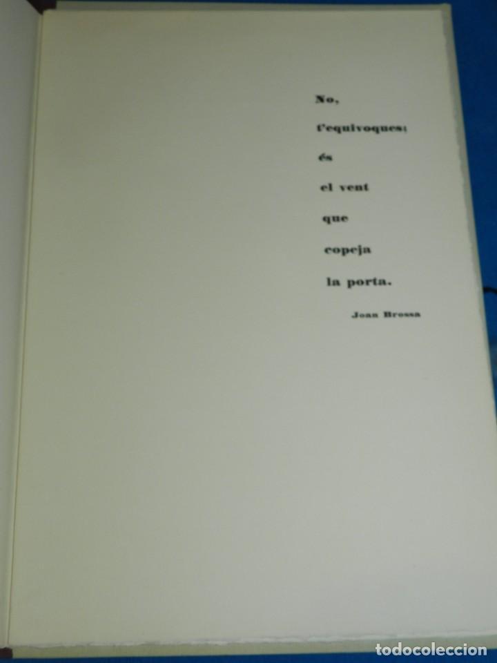Arte: (M) Catalogo Modest Cuixart - Galaria Rene Metras 1963 - Prologo Joan Brossa, 500 Ejemplares - Foto 4 - 206329550