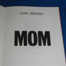 Arte: (M) JOAN BROSSA - MOM 137 EXEMPLARS SIGNAT PER JOAN BROSSA, XILOGRAFIES DELS POEMES VISUALS 1988. Lote 206332963