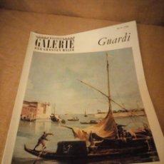 Arte: BASTEI GALERIE DER GROSSEN MALER GUARDI 1965. Lote 206558355