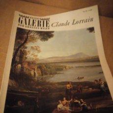 Arte: BASTEI GALERIE DER GROSSEN MALER CLAUDE LORRAIN 1964. Lote 206558441