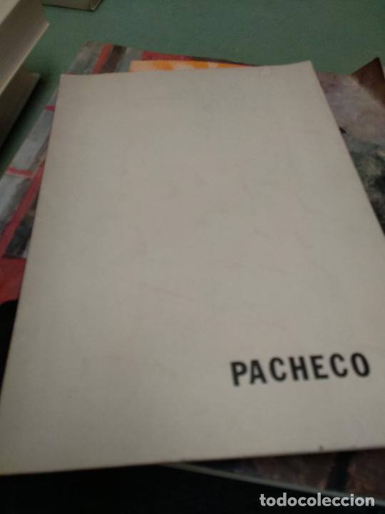 PACHECO CATALOGO GALERIA FAUNA'S (Arte - Catálogos)