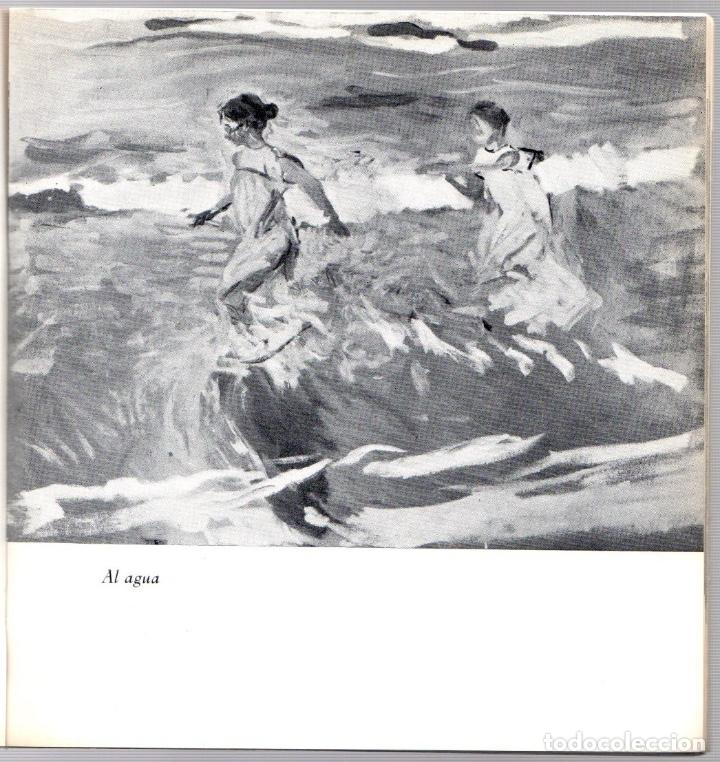 Arte: CATALOGO EXPOSICION JOAQUIN SOROLLA. GALERIA THEO, MADRID. 1968 - Foto 2 - 207091562