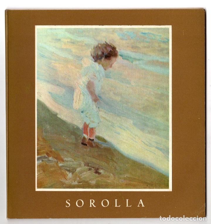 CATALOGO EXPOSICION JOAQUIN SOROLLA. GALERIA THEO, MADRID. 1968 (Arte - Catálogos)