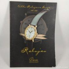 Arte: CATALOGO - ALTA RELOJERIA SUIZA 1999-2000 - RELOJES - DURAN JOYEROS / Nº12810. Lote 207100480