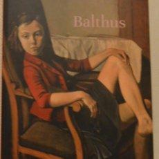 Arte: BALTHUS - THYSSEN BORNEMISZA - CATALOGO 2019. Lote 209059735