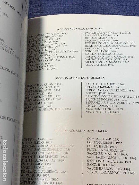 Arte: CATALOGO 53 SALON DE OTOÑO PARQUE RETIRO ASOCIACIO ESPAÑOLA PINTORES ESCULTORES 24X17CMS - Foto 3 - 209121258
