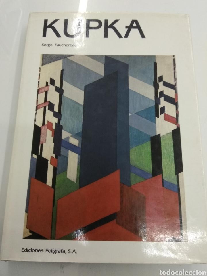 KUPKA FRANTISEK 1871 - 1957 ED. POLIGRAFA POR SERGE FAUCHEREAU ARTE ABSTRACTO (Arte - Catálogos)