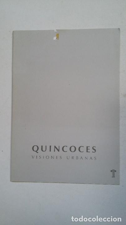 ALEJANDRO QUINCOCES: VISIONES URBANAS. GALERIA DE ARTE PEDRO TORRES LOGROÑO 1999. TDKC65 (Arte - Catálogos)