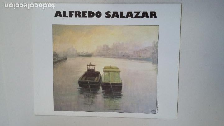 ALFREDO SALAZAR OLEOS. 28 MARZO 15 ABRIL 2000. CELIA FERREIRO. ALTEA GALERIA DE ARTE. TDKC65 (Arte - Catálogos)