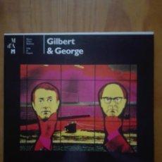 Arte: GILBERT&GEORGE. MUSEO DE ARTE MODERNO DE LUGANO.. Lote 210303710
