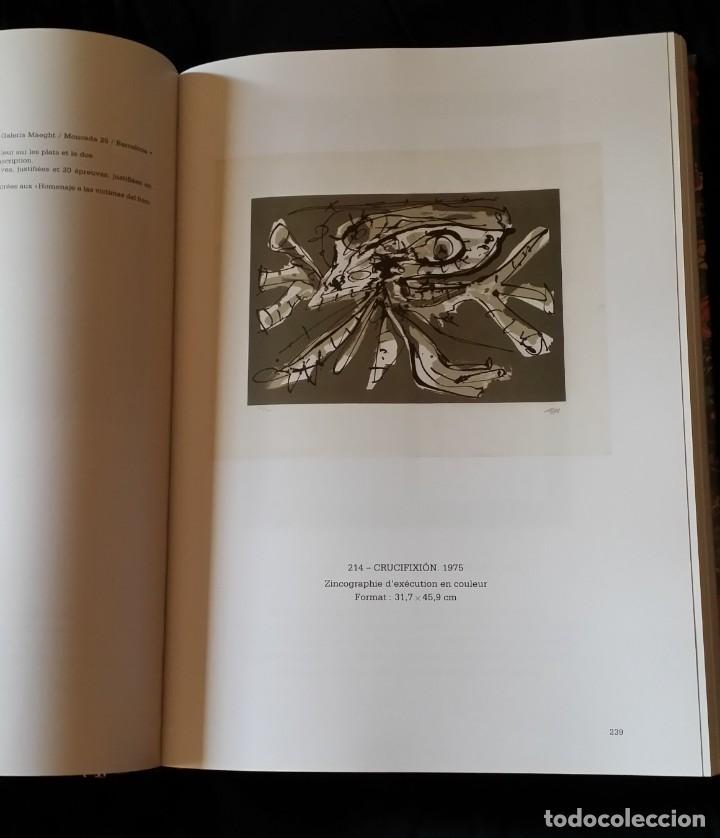 Arte: CAFLISH: Antonio SAURA, catálogo razonado de la obra gráfica, NUEVO / CRAMER - Foto 8 - 210404712