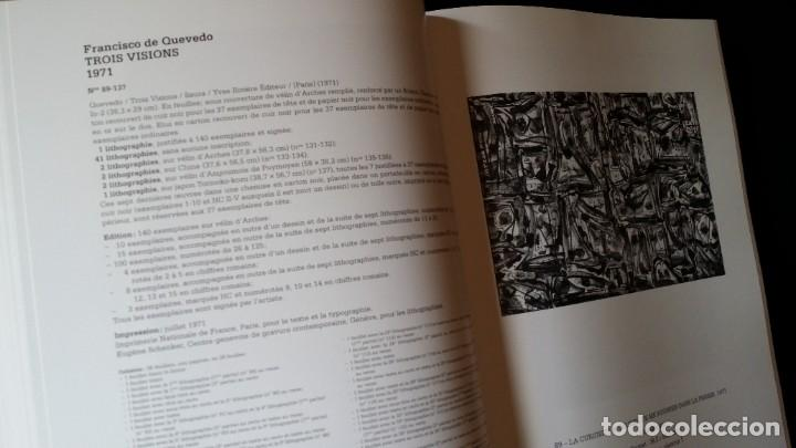Arte: CAFLISH: Antonio SAURA, catálogo razonado de la obra gráfica, NUEVO / CRAMER - Foto 9 - 210404712