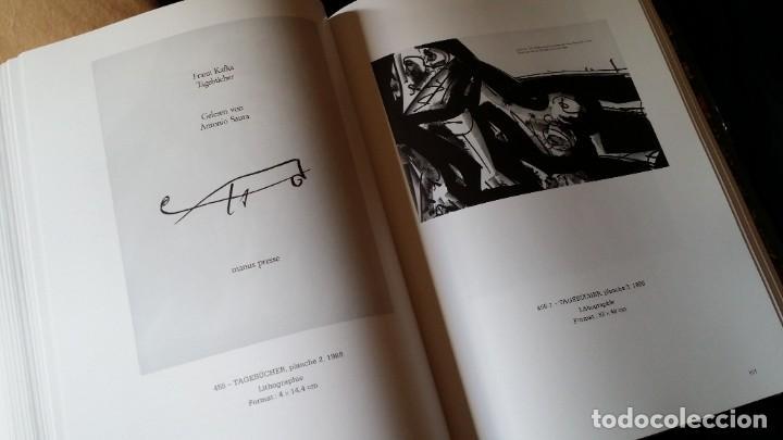 Arte: CAFLISH: Antonio SAURA, catálogo razonado de la obra gráfica, NUEVO / CRAMER - Foto 13 - 210404712