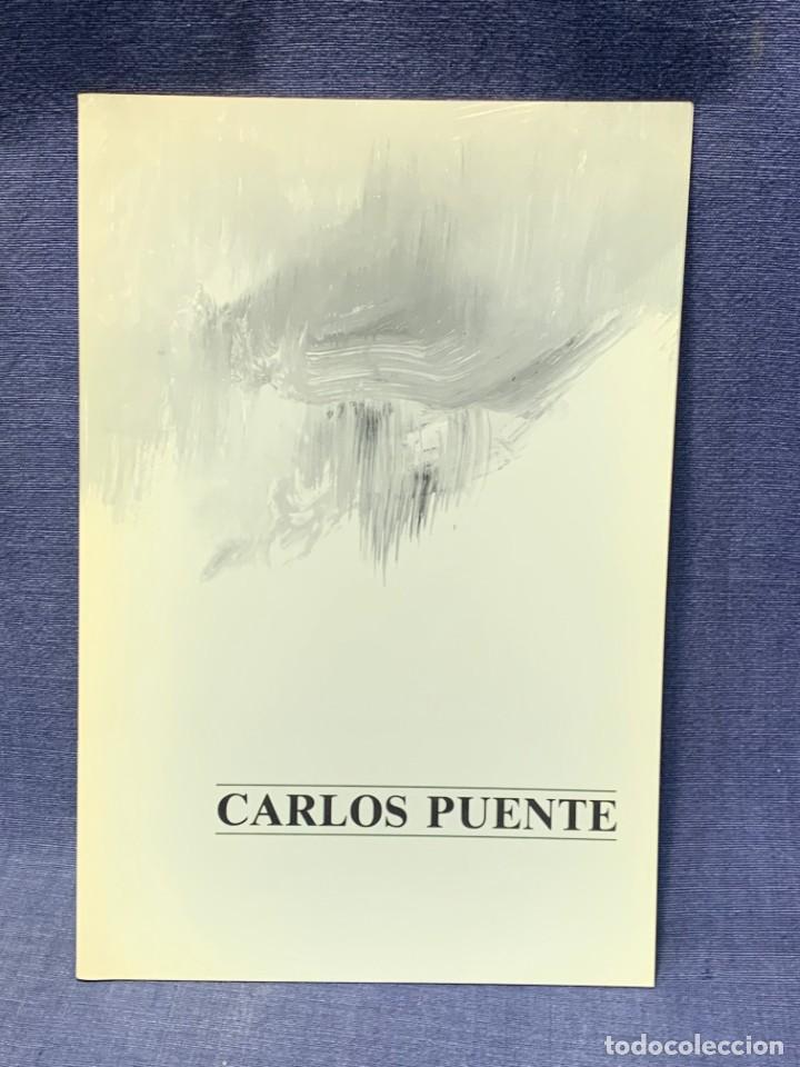 CATALOGO EXOSICION GALERIA ZUCCARO CARLOS PUENTE 1990 OBRA RECIENTE OLEOS 24X16CMS (Arte - Catálogos)