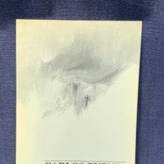 Arte: CATALOGO EXOSICION GALERIA ZUCCARO CARLOS PUENTE 1990 OBRA RECIENTE OLEOS 24X16CMS. Lote 210457007