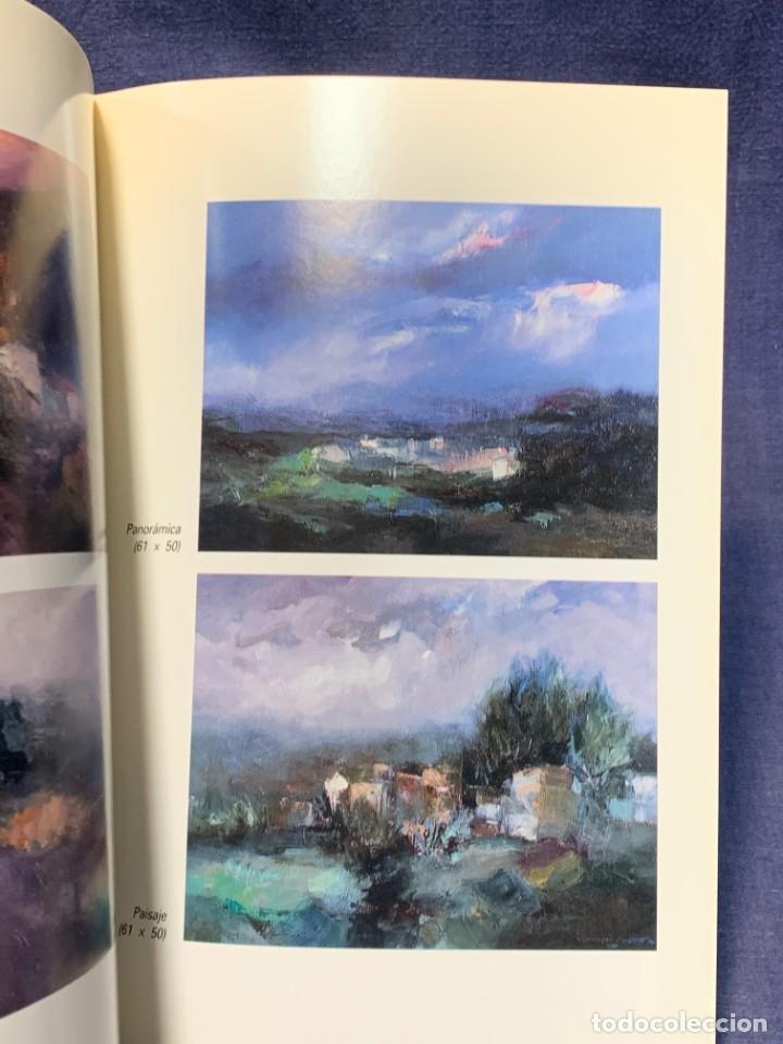 Arte: catalogo exosicion galeria zuccaro carlos puente 1990 obra reciente oleos 24x16cms - Foto 3 - 210457007