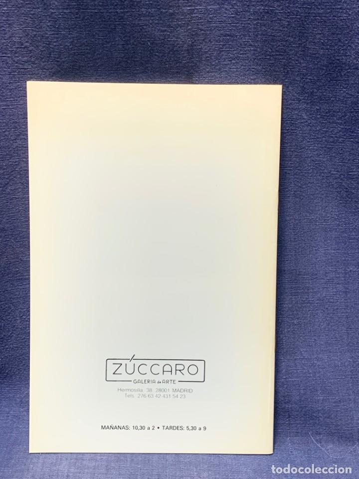 Arte: catalogo exosicion galeria zuccaro carlos puente 1990 obra reciente oleos 24x16cms - Foto 5 - 210457007