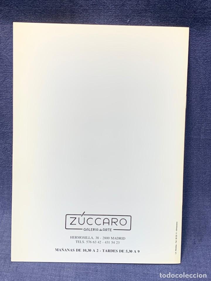Arte: catalogo exosicion galeria zuccaro jose mingol 1990 obra reciente oleos 23x16,5cms - Foto 2 - 210457145