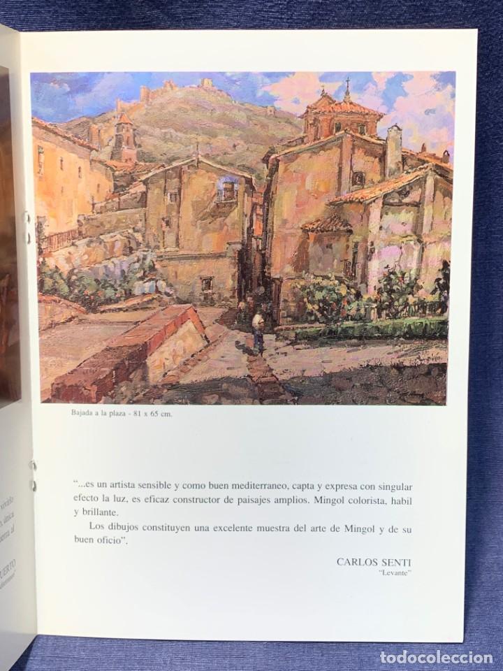 Arte: catalogo exosicion galeria zuccaro jose mingol 1990 obra reciente oleos 23x16,5cms - Foto 4 - 210457145