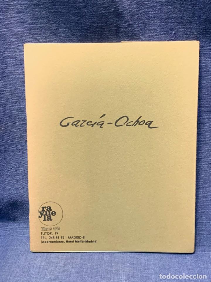 CATALOGO EXPOSICION GALERIA RAYUELA 1975 GARCIA OCHOA OBRA RECIENTE OLEOS 21X17CMS (Arte - Catálogos)