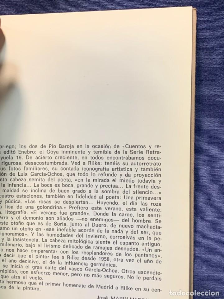 Arte: catalogo exposicion galeria rayuela 1975 garcia ochoa obra reciente oleos 21x17cms - Foto 4 - 210457422