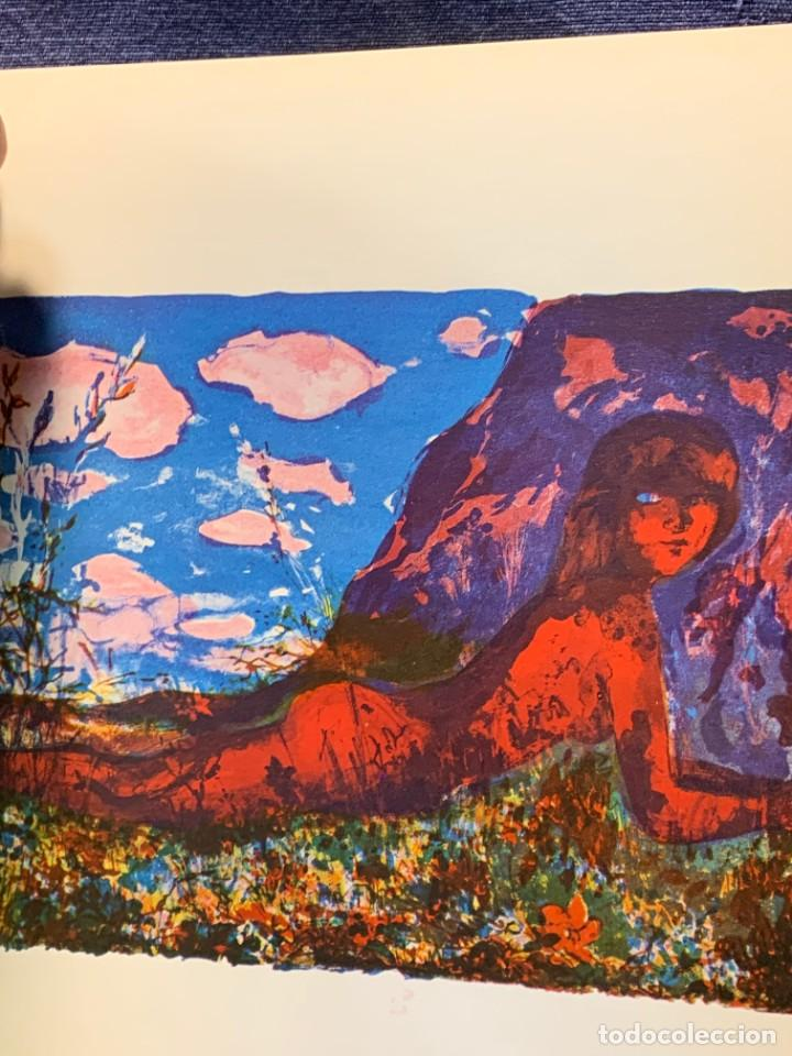 Arte: catalogo exposicion galeria rayuela 1975 garcia ochoa obra reciente oleos 21x17cms - Foto 5 - 210457422