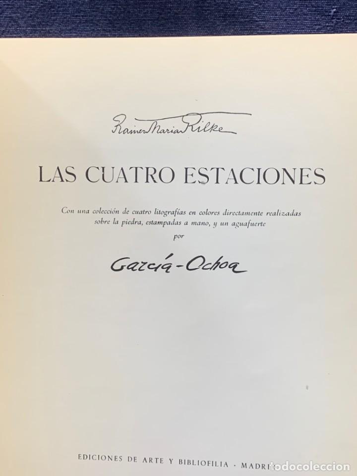 Arte: catalogo exposicion galeria rayuela 1975 garcia ochoa obra reciente oleos 21x17cms - Foto 6 - 210457422