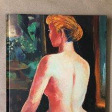 Art: MENCHU GAL, CREANDO EN EL SILENCIO. CATÁLOGO DE EXPOSICIÓN EN CANARIAS EN 2012.. Lote 210759607