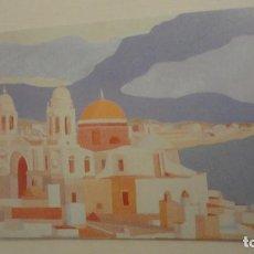 Arte: ANTIGUA TARJETA.EXPOSICION PINTURA.MANOLO FUERTES.CAJA SAN FERNANDO.SEVILLA 1999. Lote 213322147