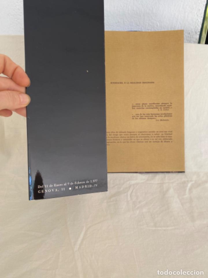 Arte: Subirachs la realidad imaginada Josep Maria Subirachs catálogo exposición Galería Biosca Madrid 1977 - Foto 2 - 213642425