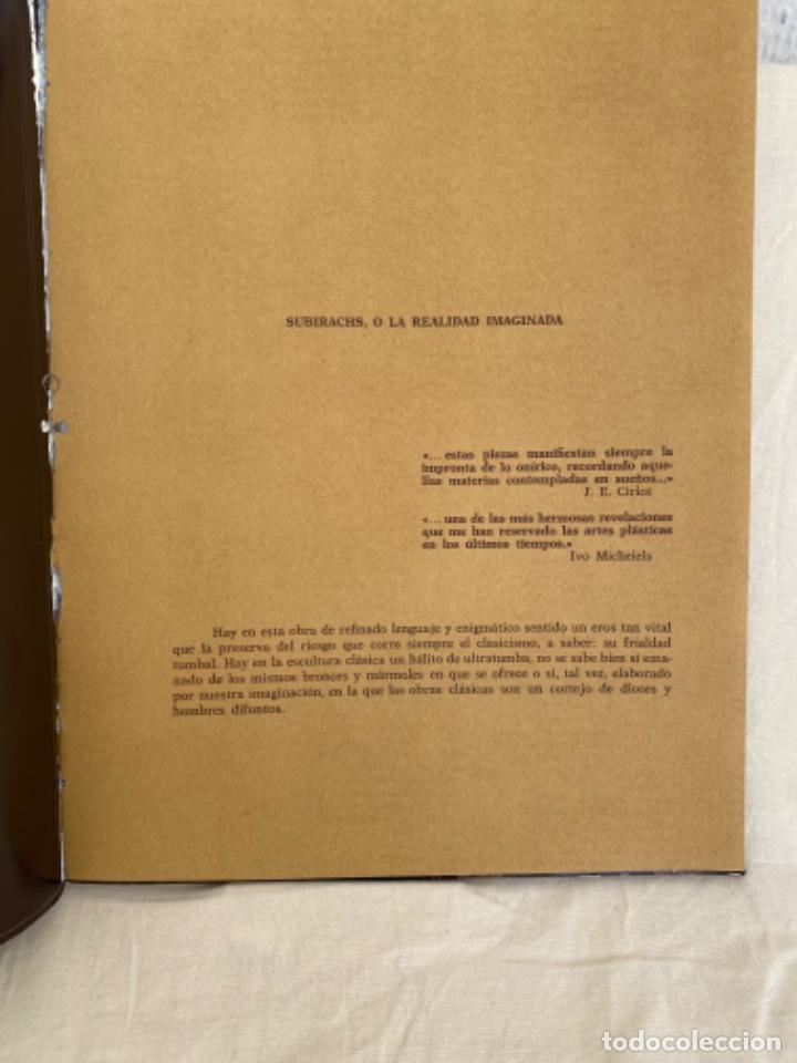 Arte: Subirachs la realidad imaginada Josep Maria Subirachs catálogo exposición Galería Biosca Madrid 1977 - Foto 4 - 213642425