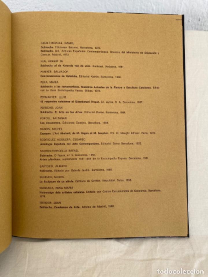 Arte: Subirachs la realidad imaginada Josep Maria Subirachs catálogo exposición Galería Biosca Madrid 1977 - Foto 5 - 213642425