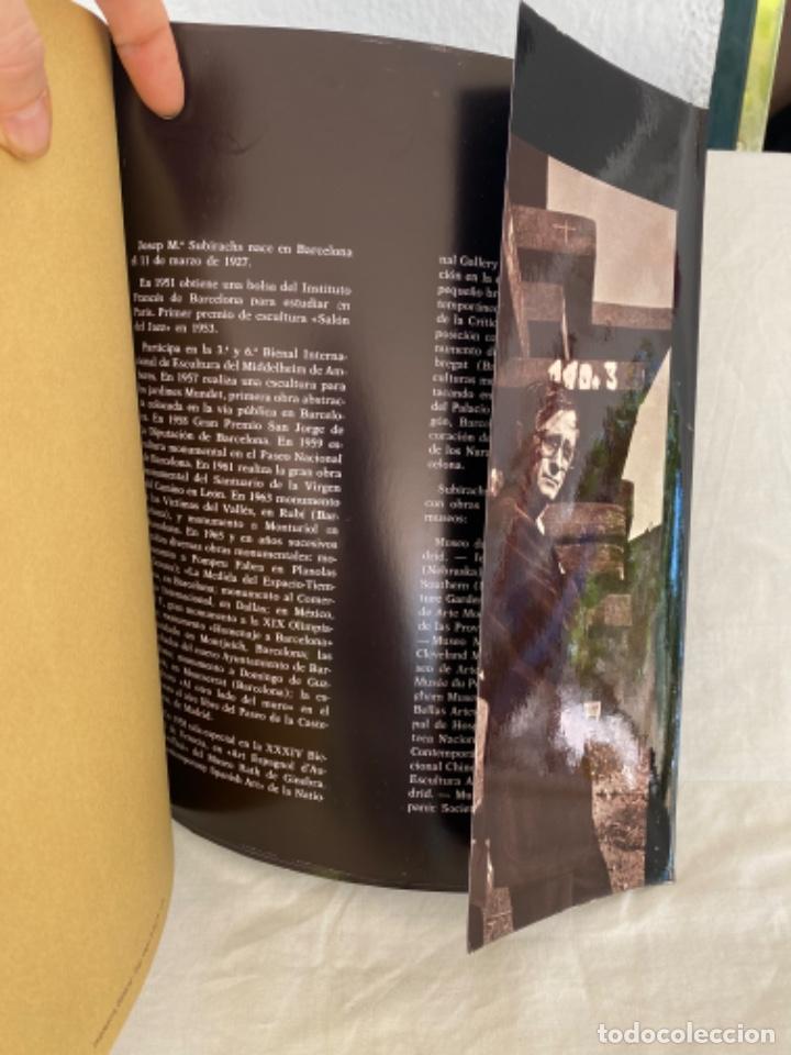 Arte: Subirachs la realidad imaginada Josep Maria Subirachs catálogo exposición Galería Biosca Madrid 1977 - Foto 11 - 213642425