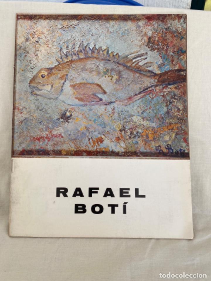RAFAEL BOTÍ CATALOGO DE ARTE GALERIA DE ARTE LAZARO 1972 (Arte - Catálogos)