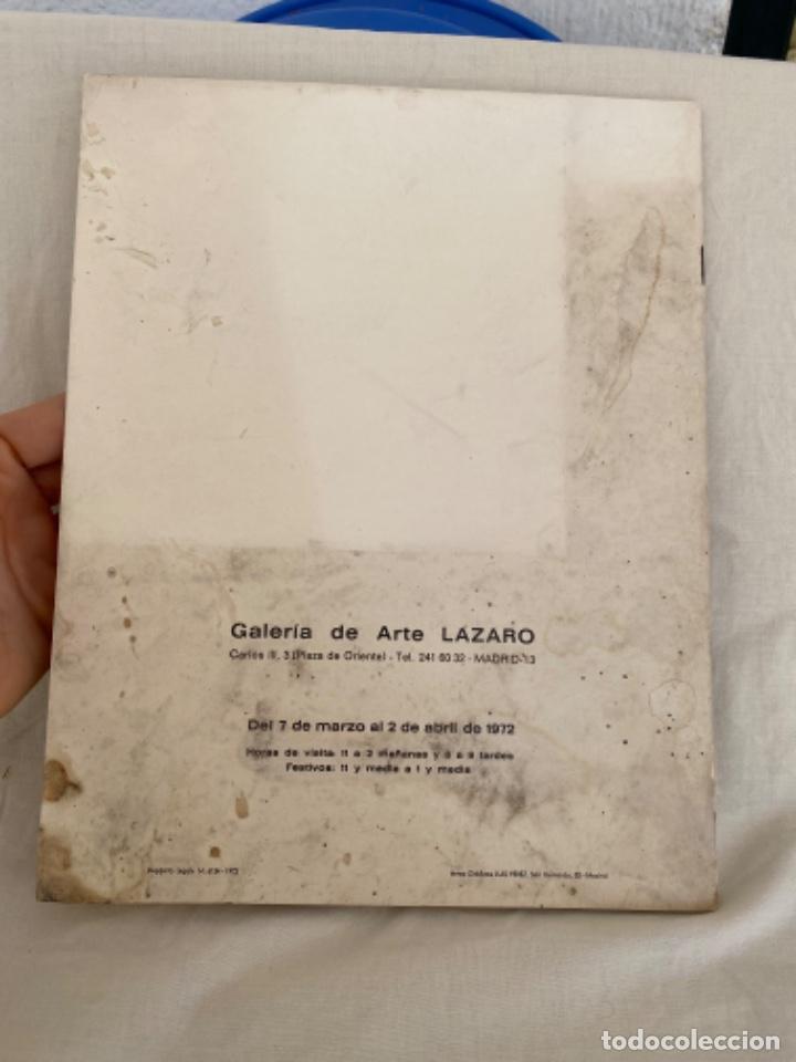 Arte: RAFAEL BOTÍ catalogo de arte GALERIA DE ARTE LAZARO 1972 - Foto 10 - 213643073