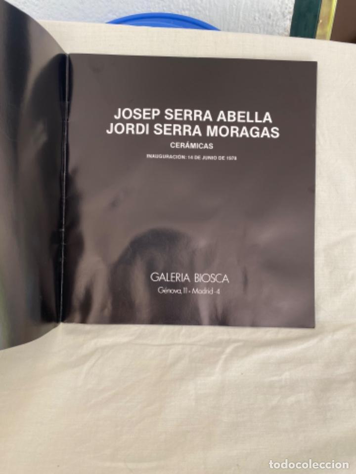 Arte: Catalogo de ceramicas Josep i jordi serra galeria biosca 1978 ceramica cataluña - Foto 3 - 213643862
