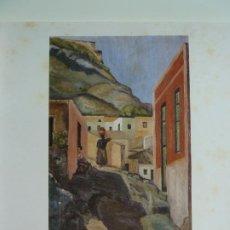 Arte: LAS PALMAS DE GRAN CANARIA. VISTA POR SUS PINTORES. Lote 213864136