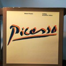 Arte: (CATALÁN) MUSEO PICASSO/ CATÁLOGO DE PINTURA Y DIBUJO/ AJUNTAMENT DE BARCELONA, 1984. Lote 214265097