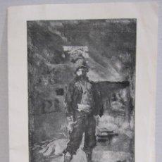 Arte: CATALOGO EXPOSICIÓN FORTUNY. GALERIES LAIETANES. BARCELONA. 1924. DIPTICO. Lote 215118891
