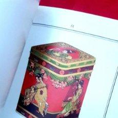 Arte: CATALOGO CAJAS DE LATÓN - 1930 - TIN BOXES - HUDSON SCOTT & SONS. Lote 216758863