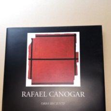 Arte: RAFAEL CANOGAR OBRA RECIENTE EXPOSICIÓN EN CENTRO CULTURAL LA GENERAL. Lote 217712428