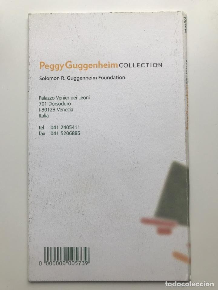 Arte: Envío 8€. Guía folleto mini catalogo de 23 pag. en español de PEGGY GUGGENHEIM COLLECTON 19x11cm - Foto 2 - 218076513