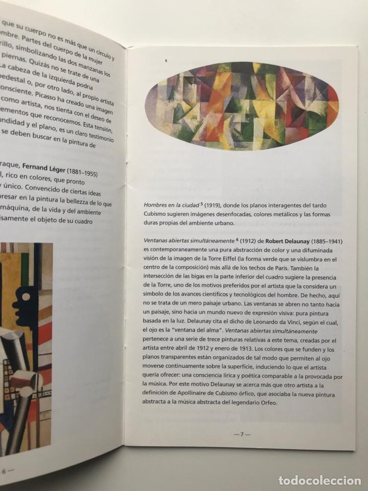 Arte: Envío 8€. Guía folleto mini catalogo de 23 pag. en español de PEGGY GUGGENHEIM COLLECTON 19x11cm - Foto 4 - 218076513