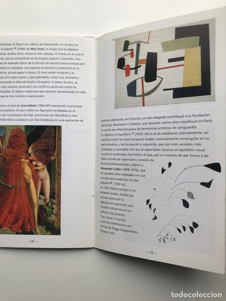 Arte: Envío 8€. Guía folleto mini catalogo de 23 pag. en español de PEGGY GUGGENHEIM COLLECTON 19x11cm - Foto 5 - 218076513