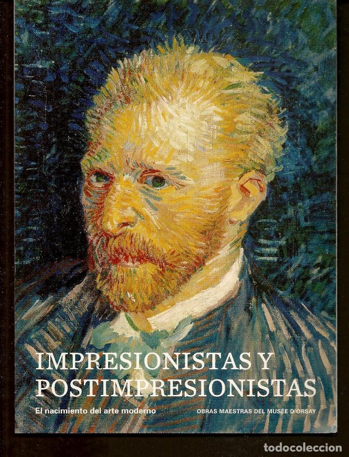 CATÁLOGO: IMPRESIONISTAS Y POSTIMPRESIONISTAS. FUNDACIÓN MAPFRE. (B/A58.1) (Arte - Catálogos)